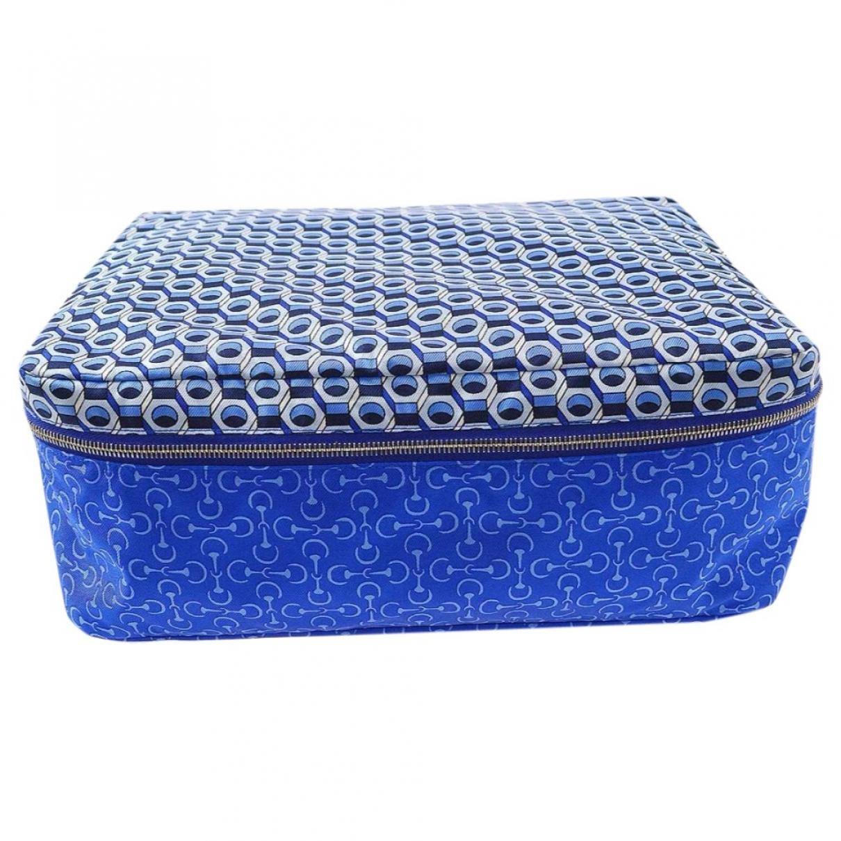 Hermes - Objets & Deco   pour lifestyle en soie - bleu