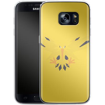 Samsung Galaxy S7 Silikon Handyhuelle - Zapdos by Lucian Foehr von Lucian Foehr