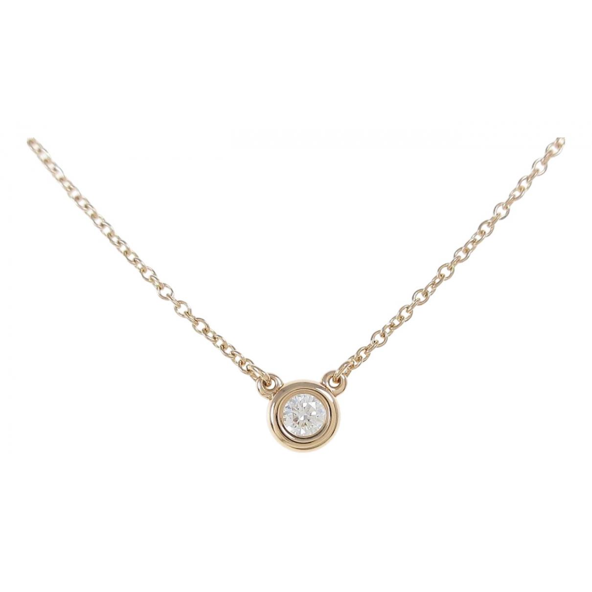 Tiffany & Co Elsa Peretti  Kette in  Gold Rosegold