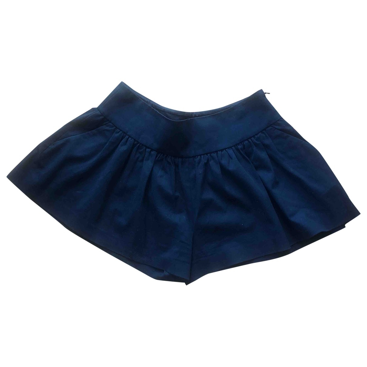 Red Valentino Garavani \N Shorts in  Marine Baumwolle