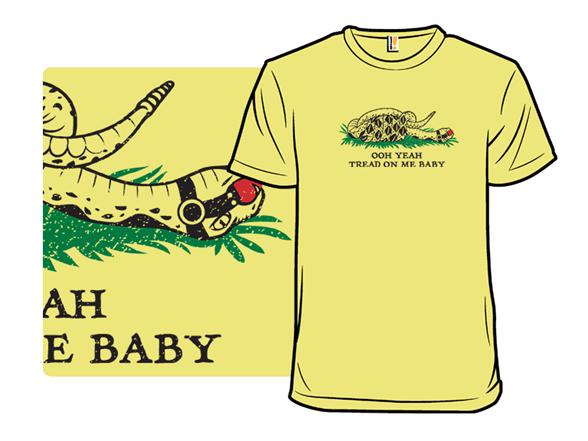 Tread On Me, Baby T Shirt