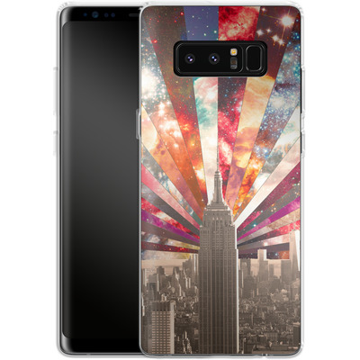 Samsung Galaxy Note 8 Silikon Handyhuelle - Superstar New York von Bianca Green