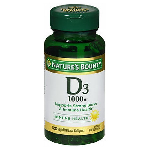 Natures Bounty Vitamin D 100 tabs by Natures Bounty