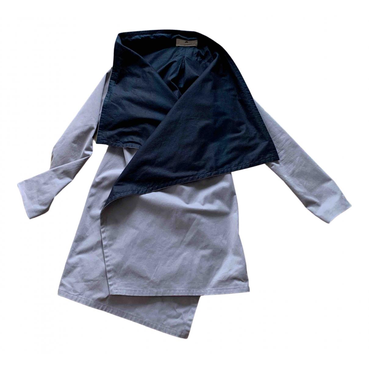 - Veste   pour femme en coton - gris