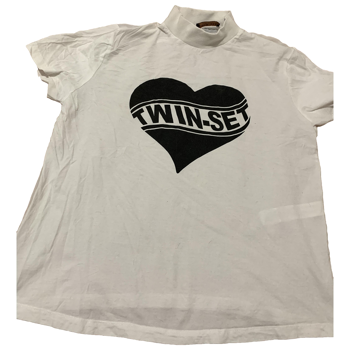 Twin Set \N White Cotton  top for Women L International