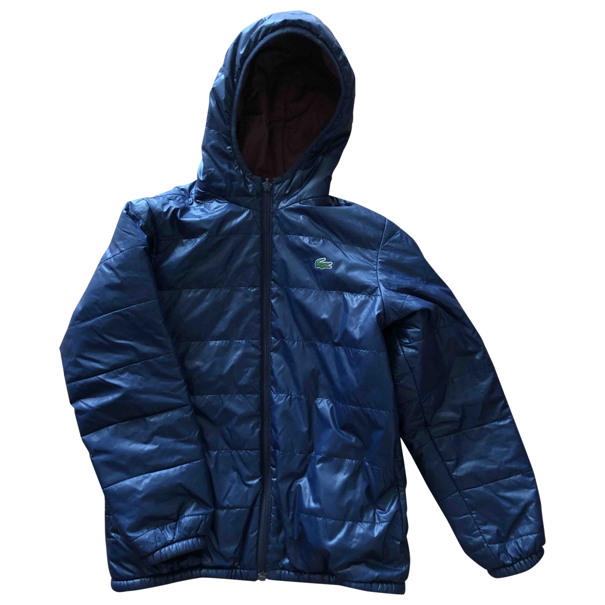 Abrigo, Chaqueta en Poliester Azul Lacoste
