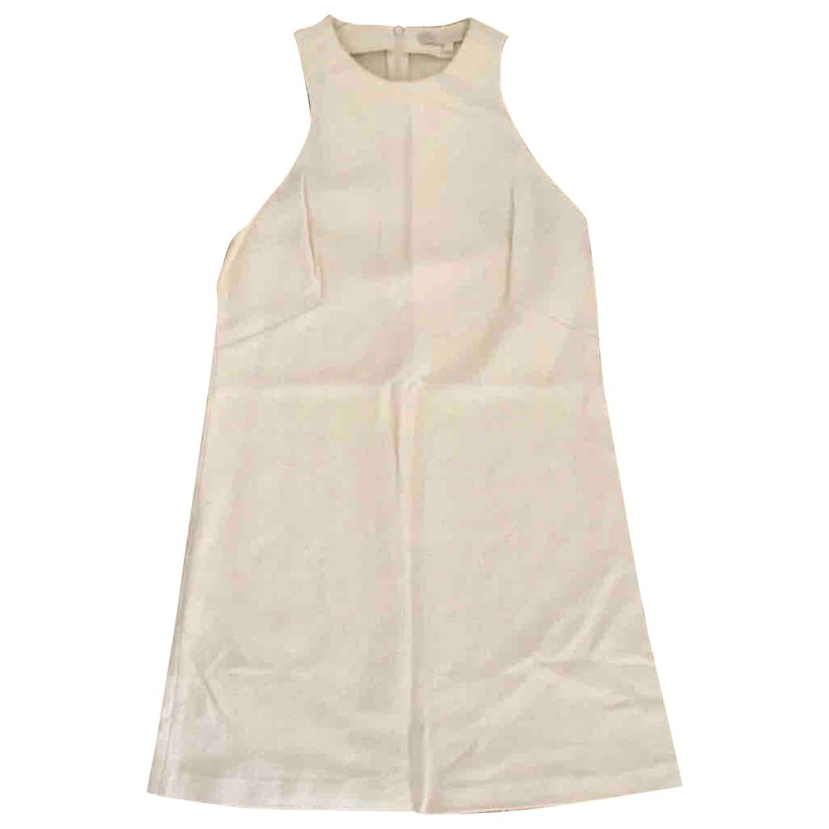 Vanessa Bruno \N Kleid in  Ecru Tweed