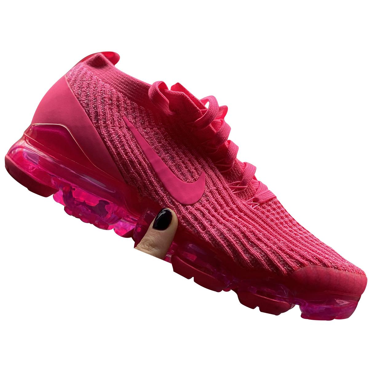 Nike - Baskets Air VaporMax pour femme en toile - rose