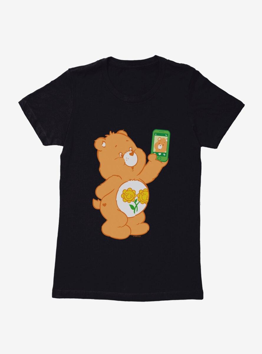 Care Bears Friend Bear Selfie Womens T-Shirt