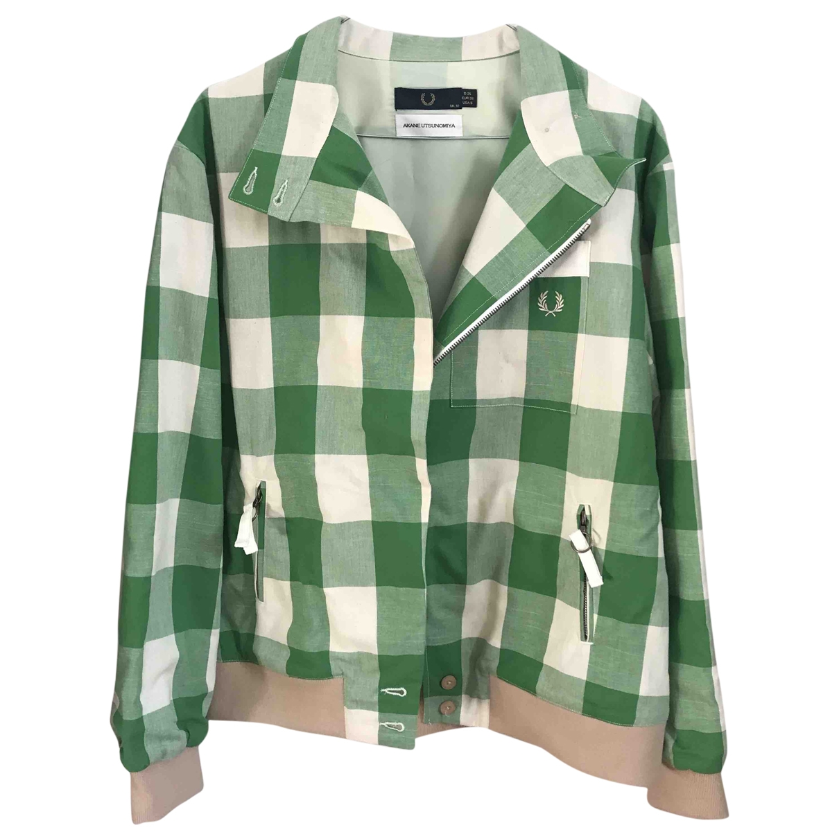 Fred Perry \N Green Cotton jacket for Women S International