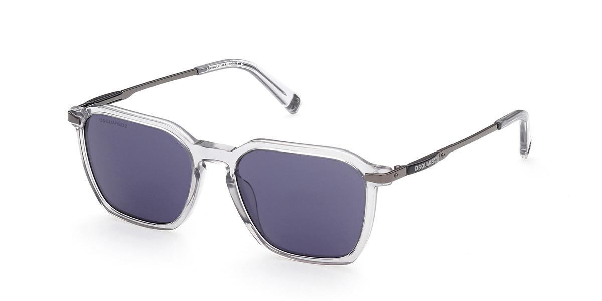 Dsquared2 DQ0362 Finley 20V Mens Sunglasses Grey Size 52