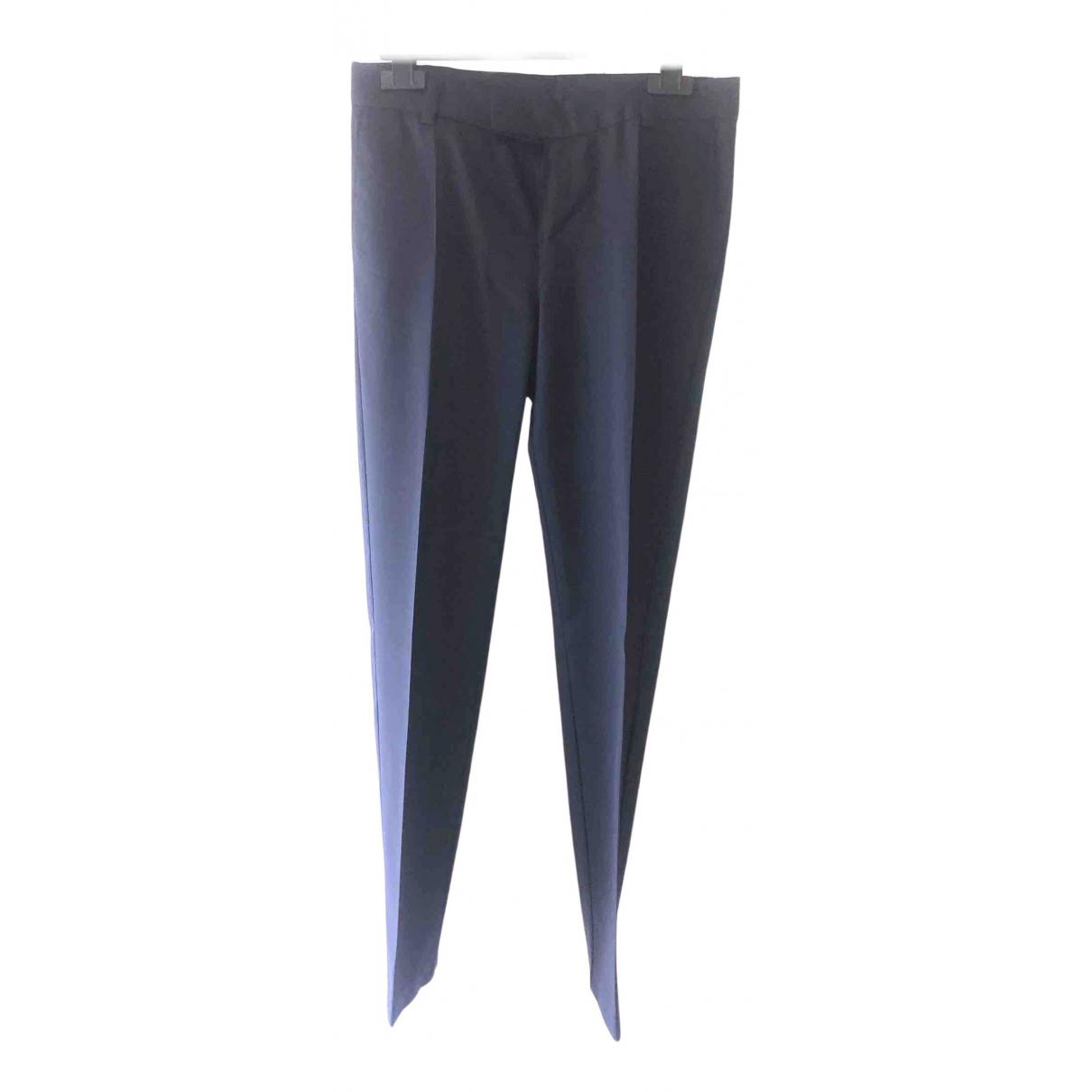 Boss - Pantalon   pour enfant en laine - bleu