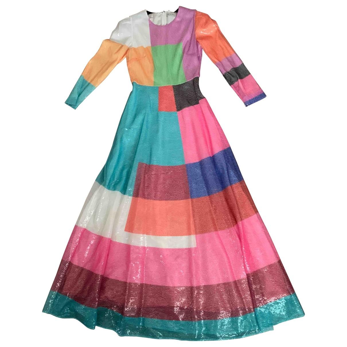 Mary Katrantzou - Robe   pour femme en a paillettes - multicolore