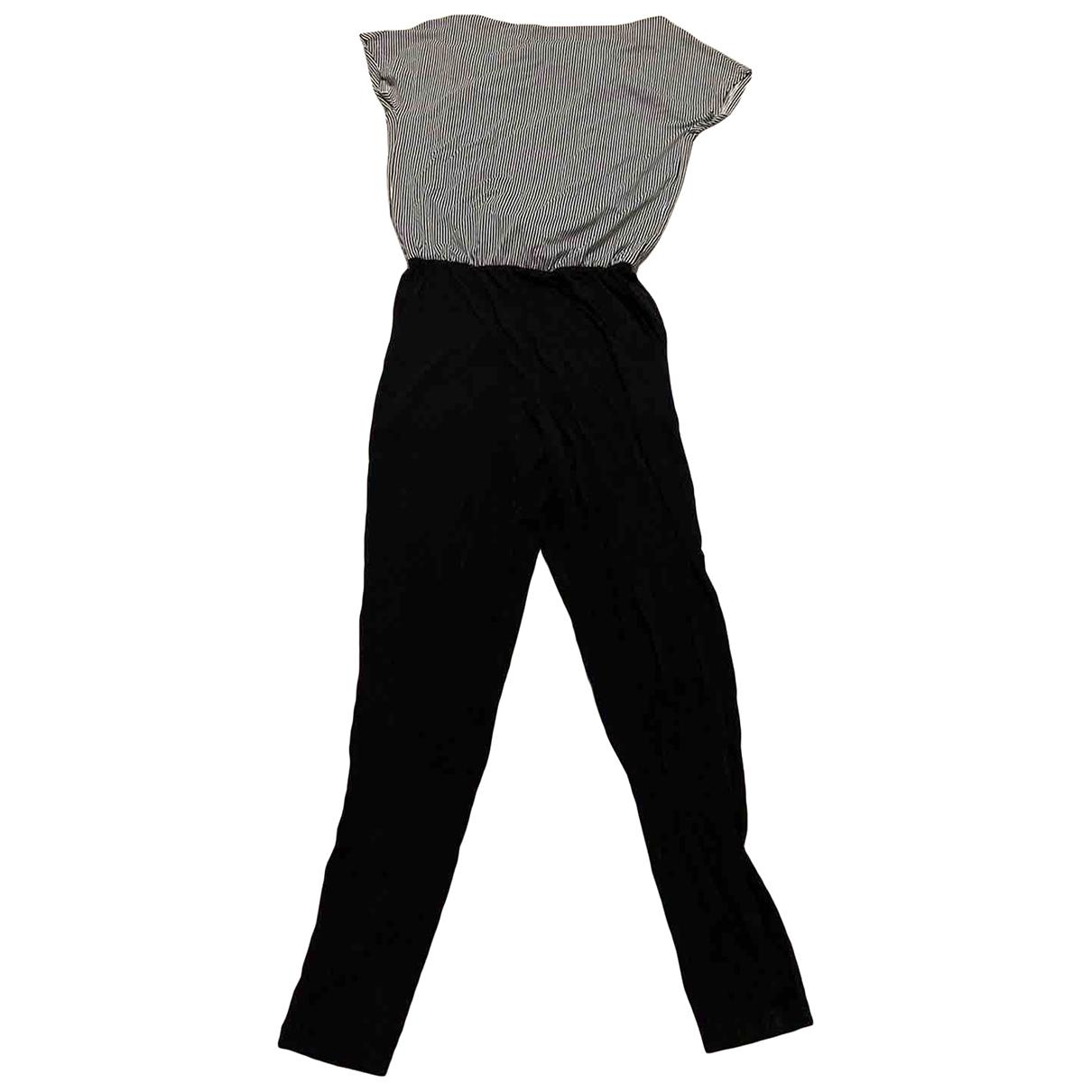 Max & Co \N Black Cotton jumpsuit for Women XS International