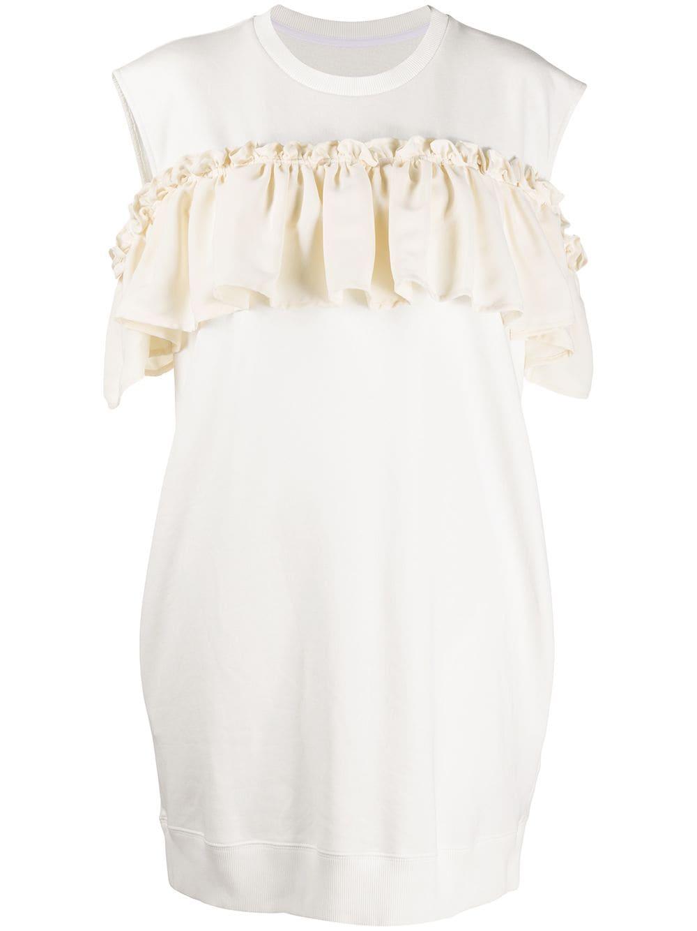 Rouches Cotton Dress