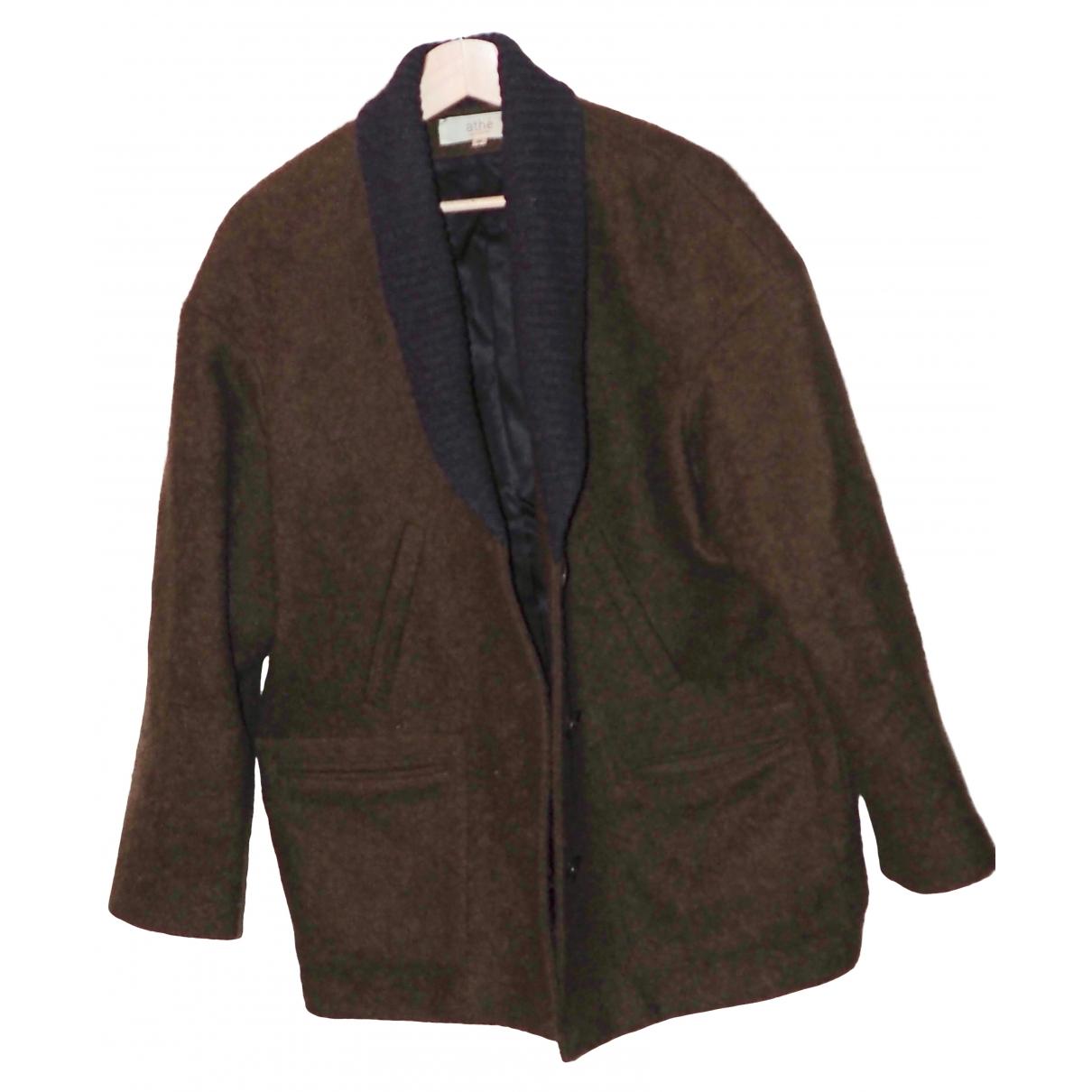 Vanessa Bruno Athe \N Wool coat for Women 38 FR