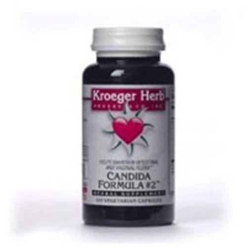Candida Formula # 2 (Foon Goos) 100 Cap by Kroeger Herb