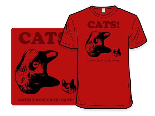 Cats! Cats! Cats! T Shirt