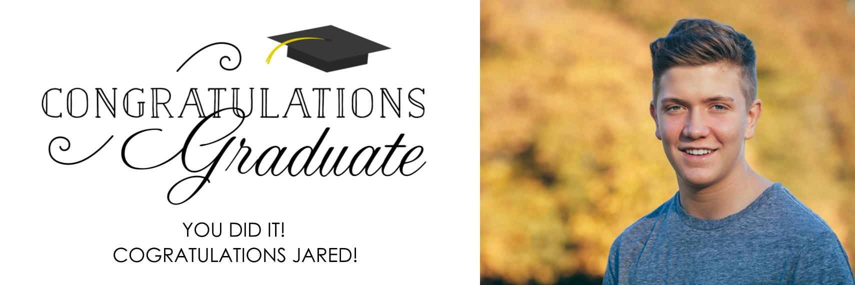 Graduation 1x3 Adhesive Banner, Home Décor -Classic Graduate