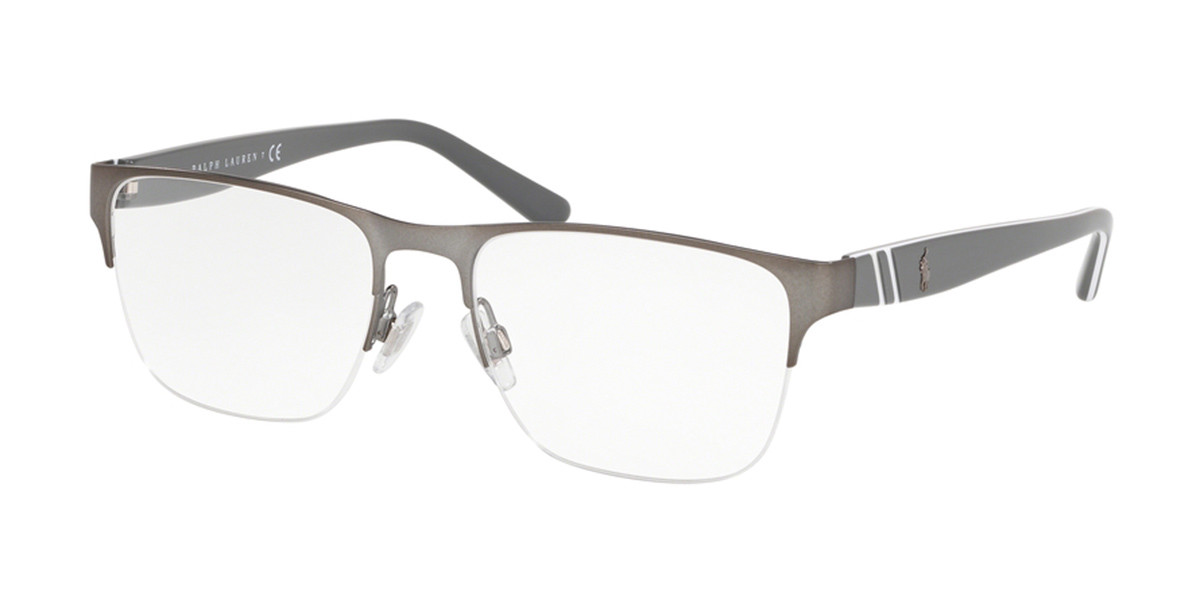 Polo Ralph Lauren PH1191 9050 Men's Glasses Grey Size 53 - Free Lenses - HSA/FSA Insurance - Blue Light Block Available