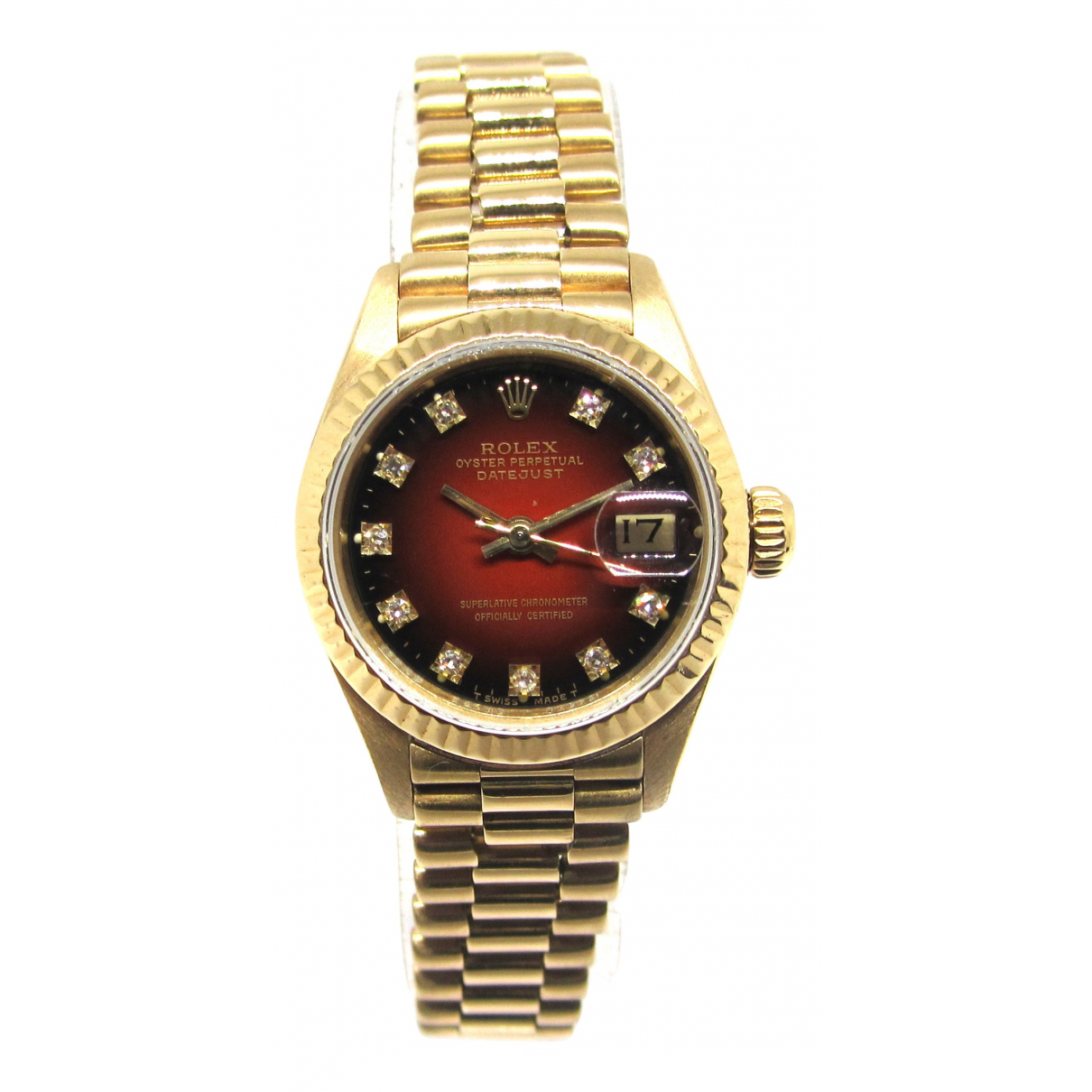 Reloj Lady DateJust 26mm de Oro amarillo Rolex