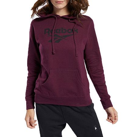 Reebok Womens Hooded Neck Long Sleeve Hoodie, X-small , Purple