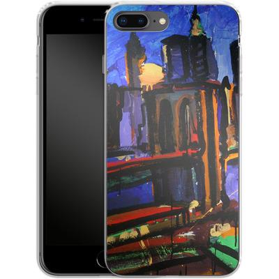 Apple iPhone 7 Plus Silikon Handyhuelle - Alive At Night von Tom Christopher
