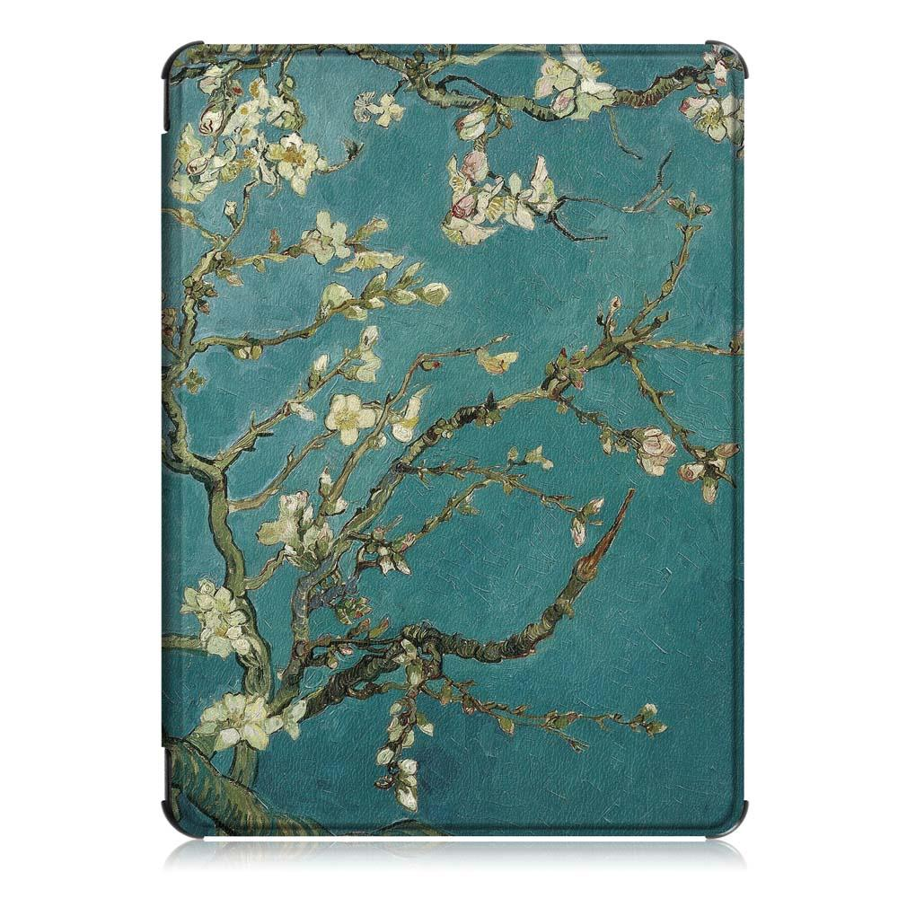Tablet Case Cover for Kindle 2019 Youth - Apricot Blossom