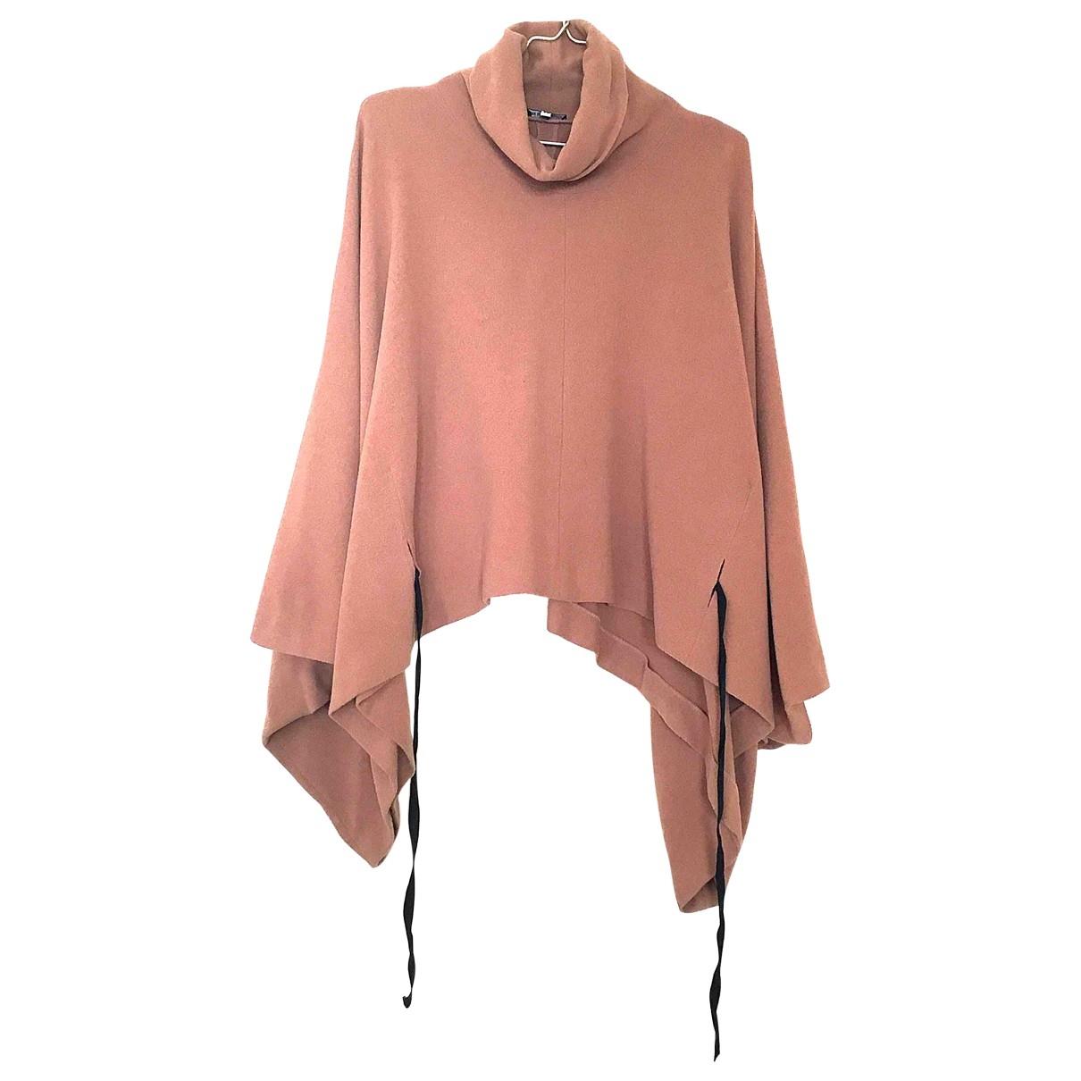 Ann Demeulemeester \N Beige Wool coat for Women 36 FR