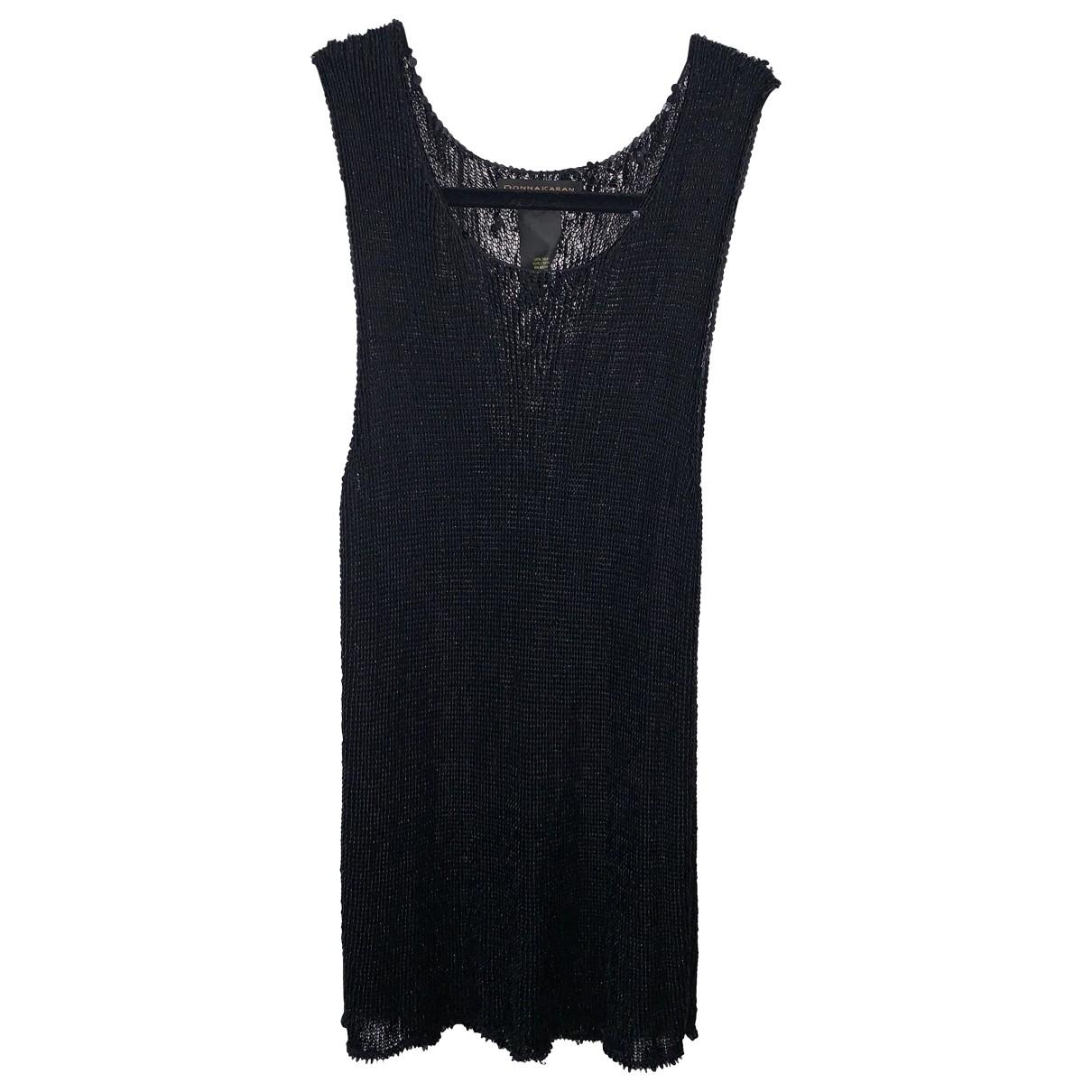 Donna Karan \N Black Glitter  top for Women M International