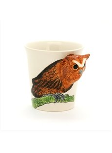 New Arrival Hand-painted 3D Ceramic Owl Creative Mug