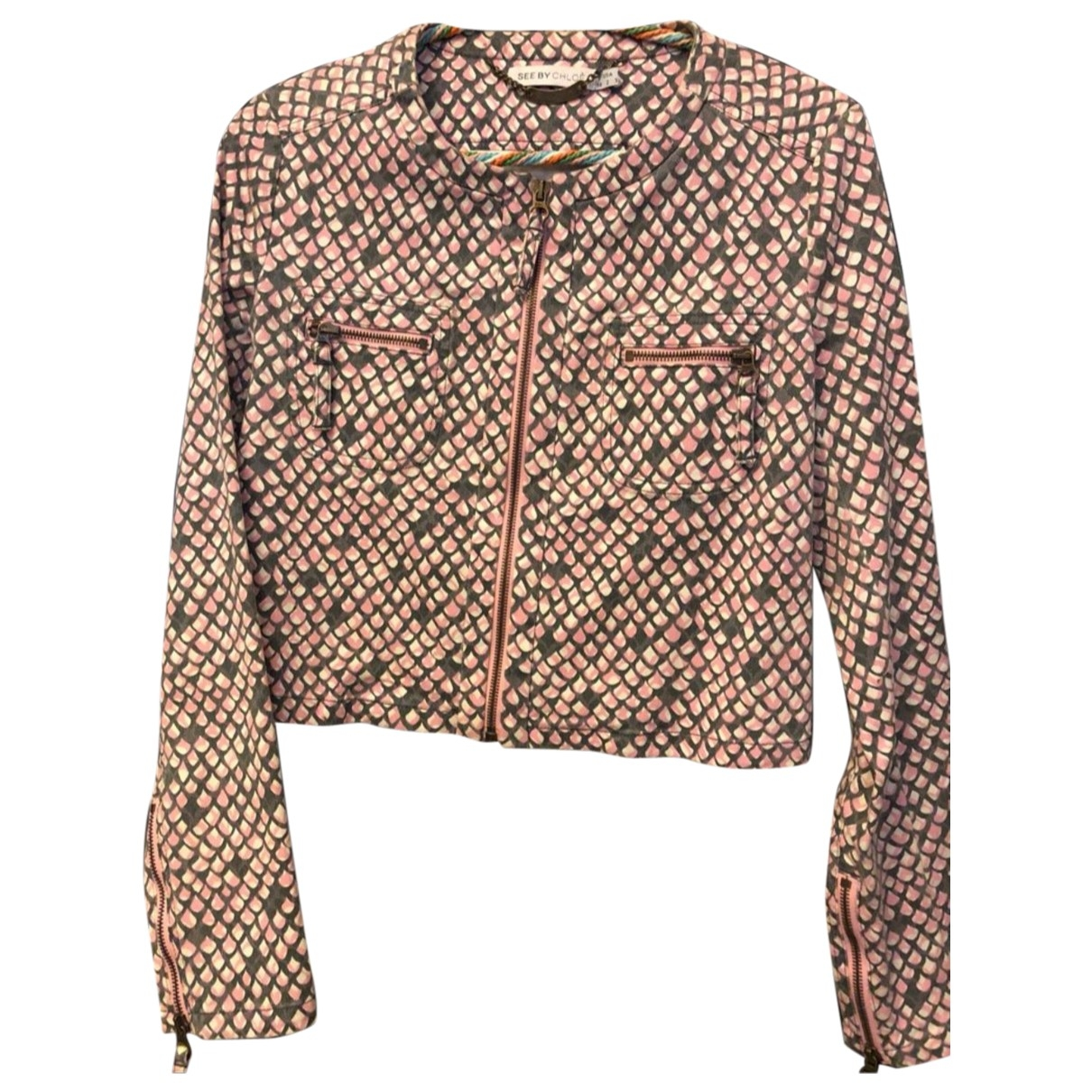 See By Chloé \N Multicolour Cotton jacket for Women 38 IT