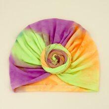 Baby Tie Dye Pattern Turban Hat