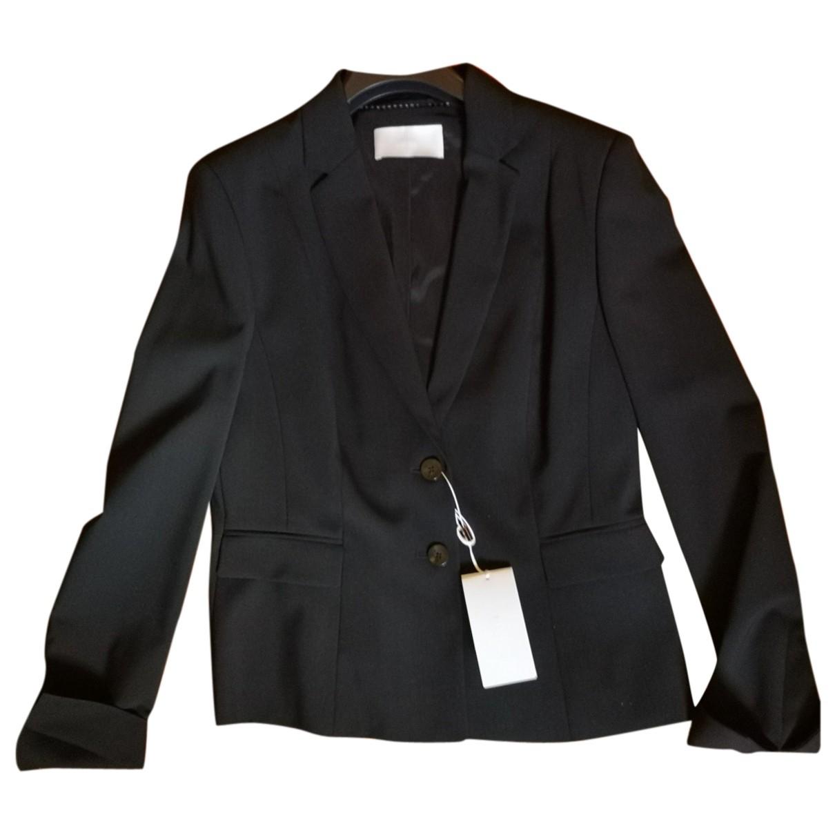 Boss \N Black Wool jacket for Women 40 FR