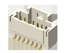 Samtec , T1M, 2 Way, 1 Row, Horizontal PCB Header (950)