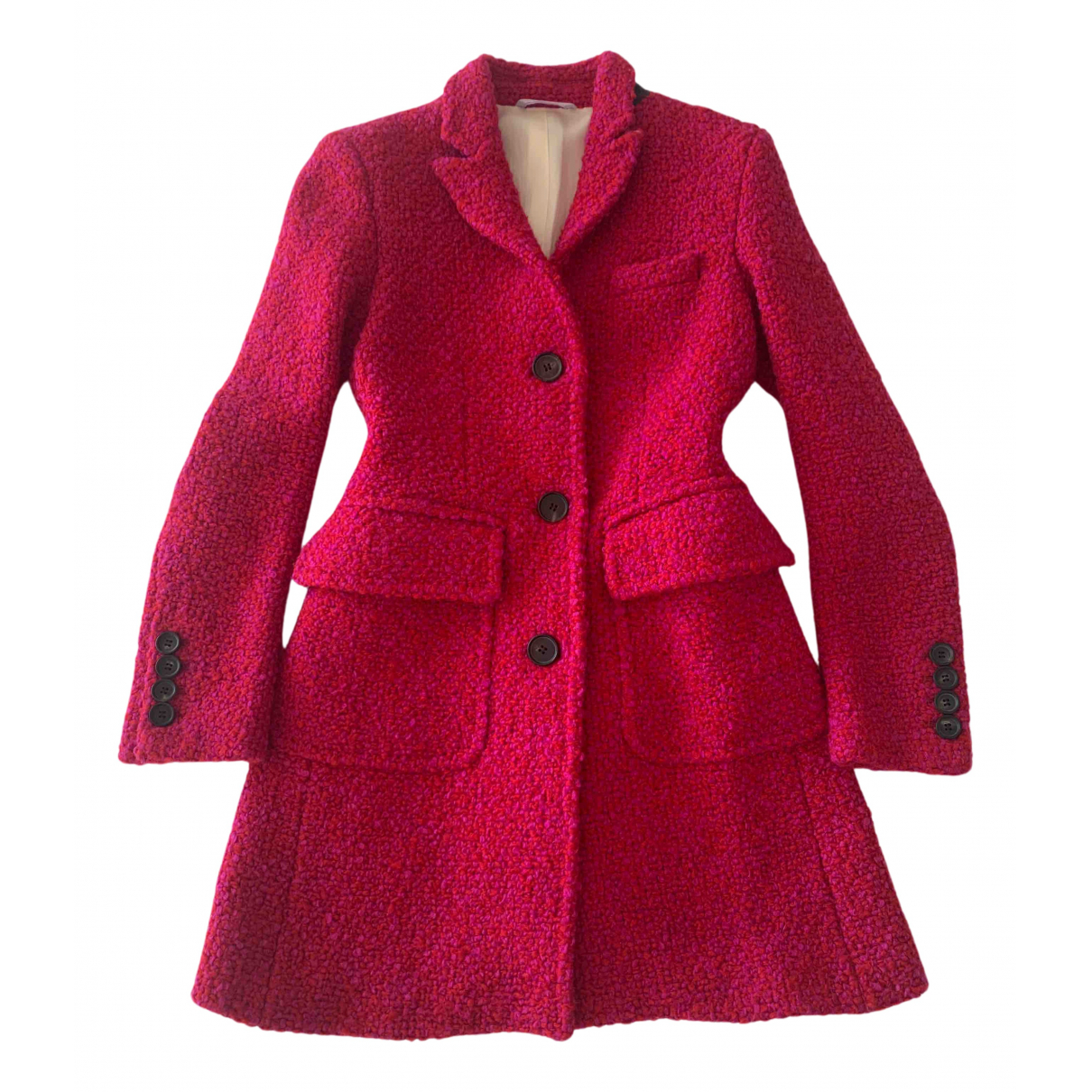 Il Cappottino N Pink Wool coat for Women 40 IT