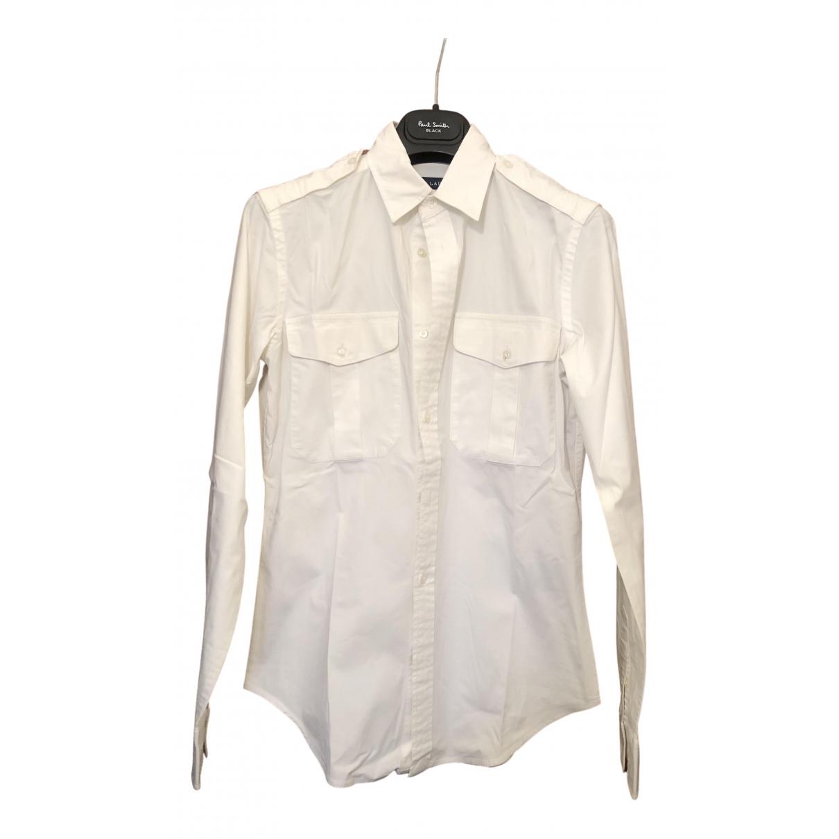Polo Ralph Lauren - Top   pour femme en coton - blanc