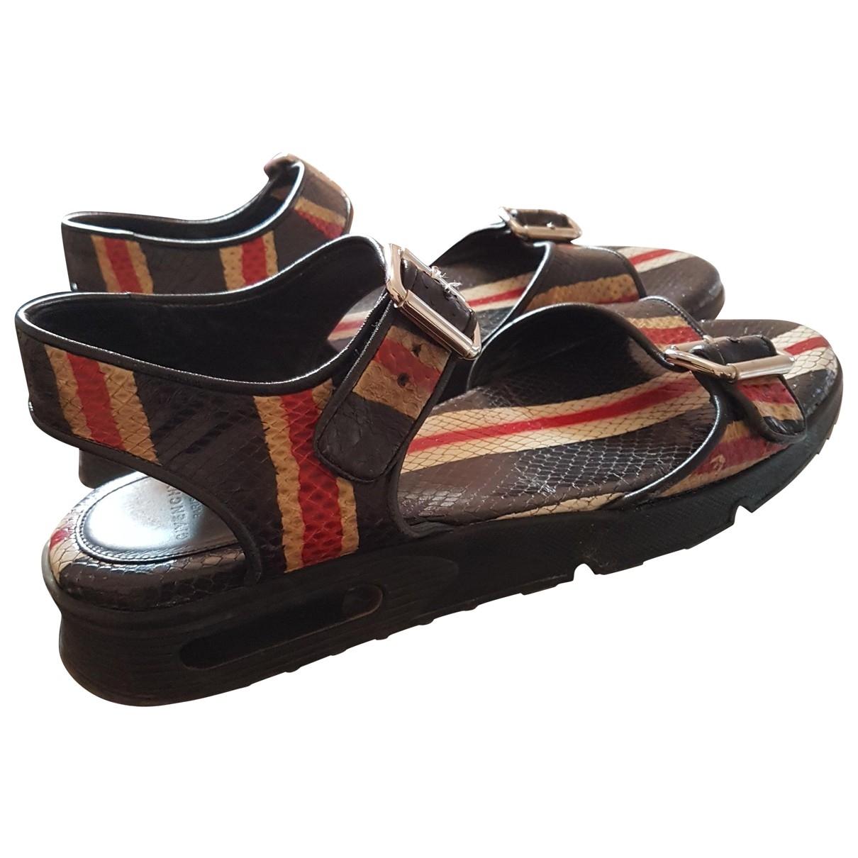 Givenchy \N Multicolour Leather Sandals for Men 8 UK
