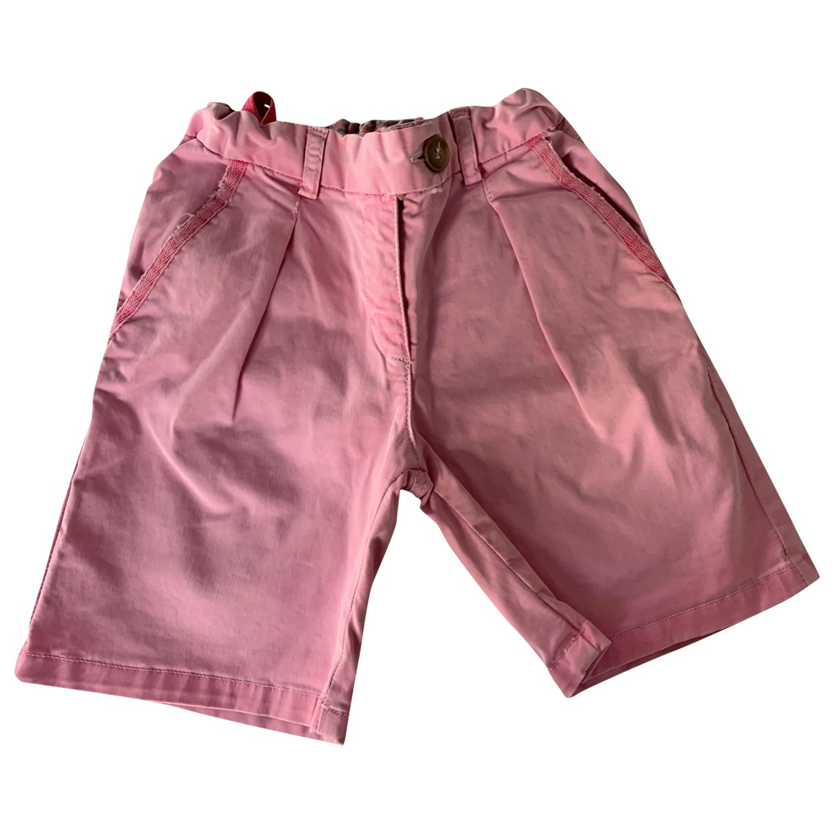 Bonpoint \N Pink Cotton Trousers for Kids 6 years - up to 114cm FR