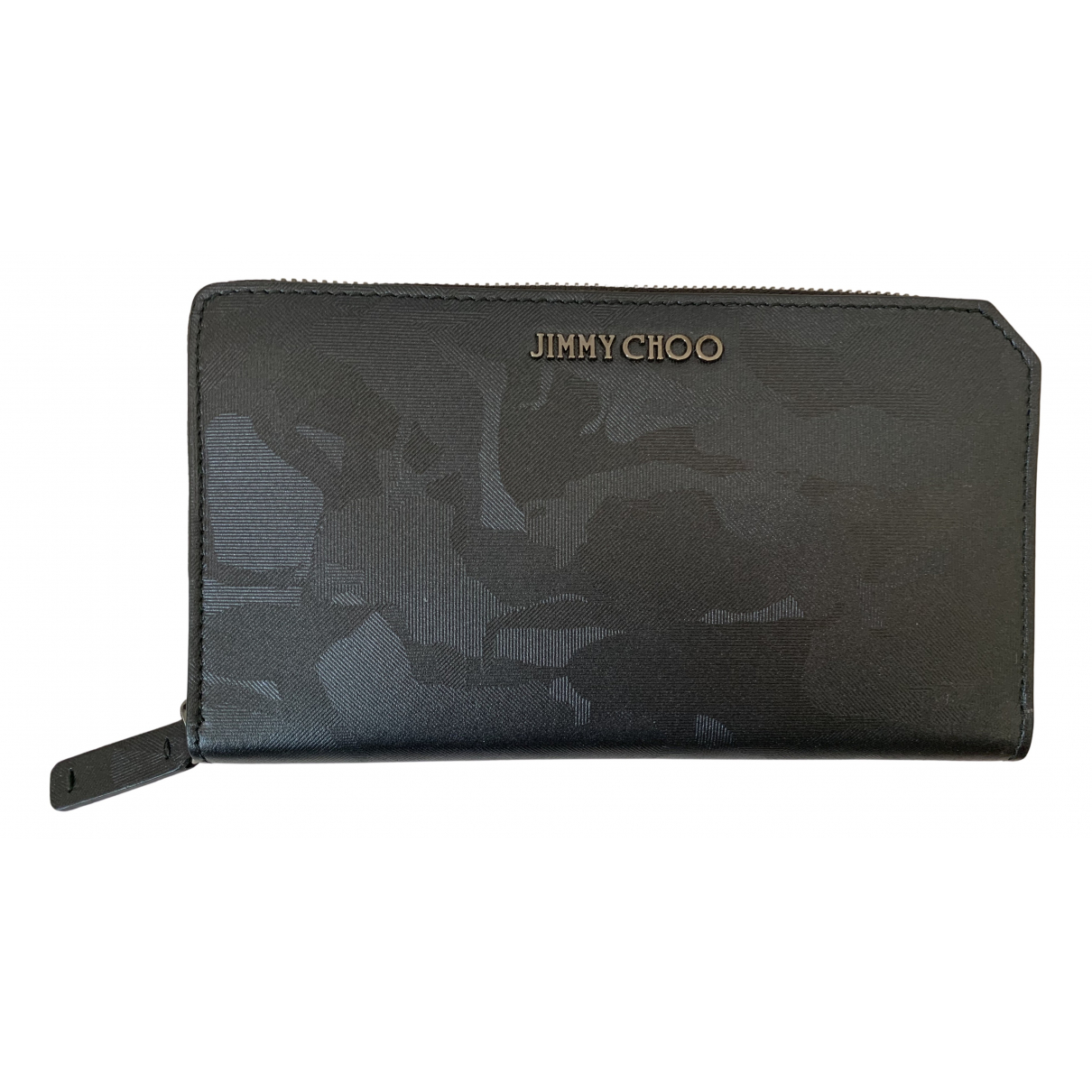 Jimmy Choo N Anthracite Leather Small bag, wallet & cases for Men N