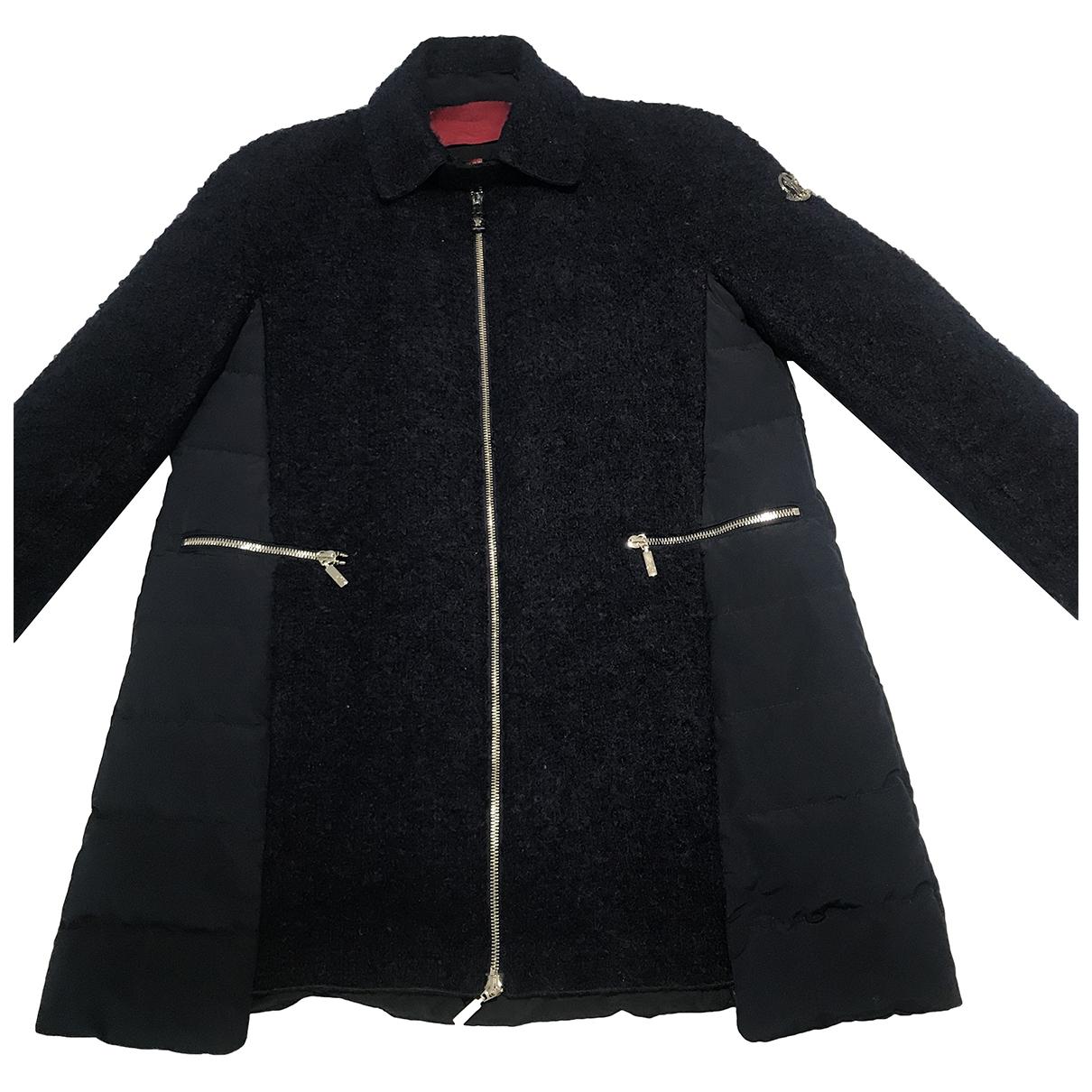 Moncler - Manteau Gamme Rouge pour femme en coton - marine