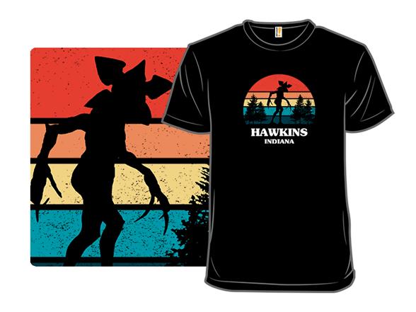 Demogorgon Sunset T Shirt