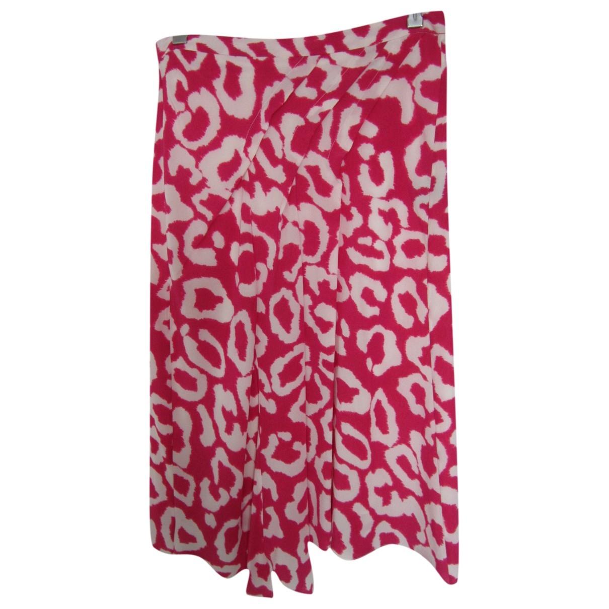 Isabel Marant \N Pink Silk skirt for Women 38 FR