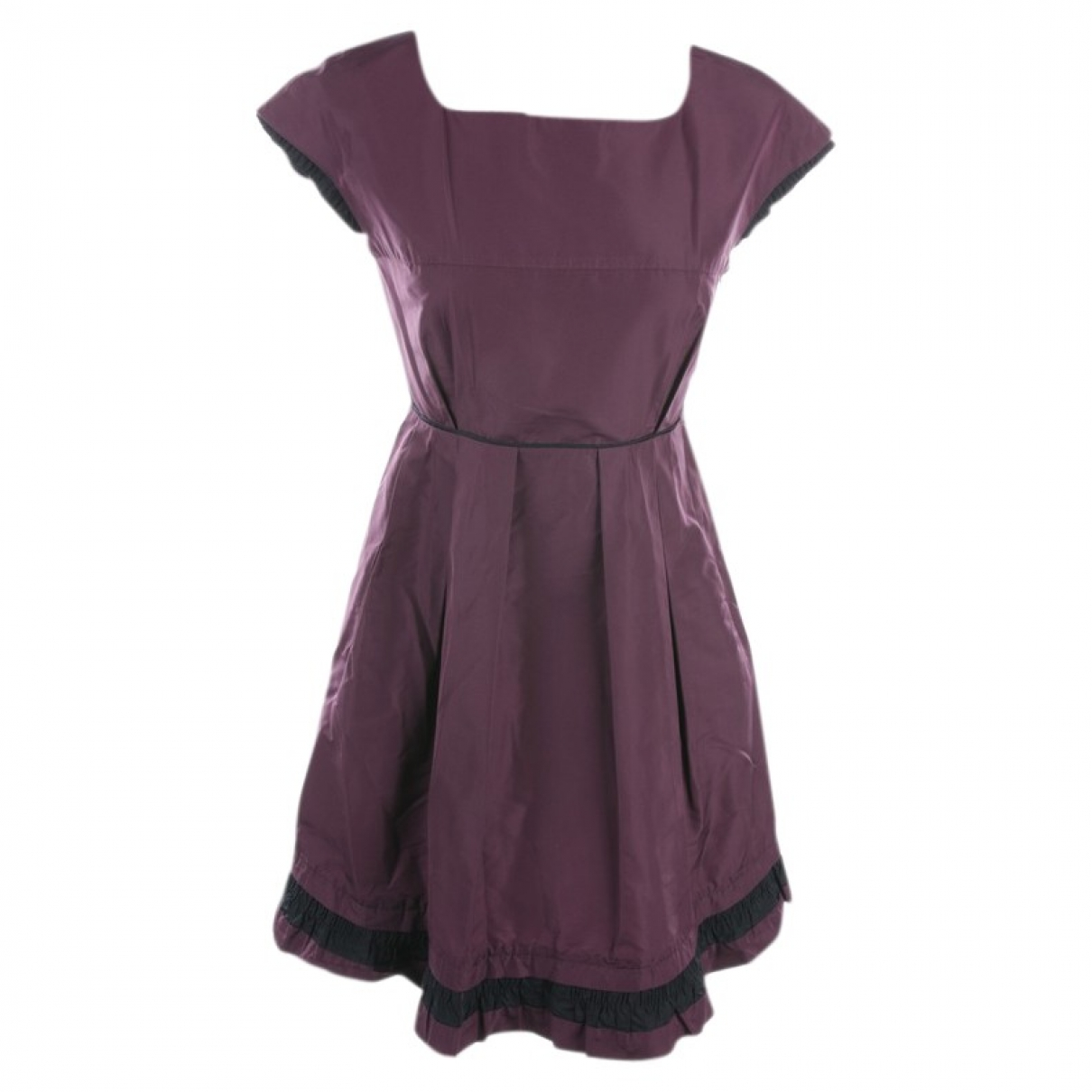 Miu Miu - Robe   pour femme en coton - violet