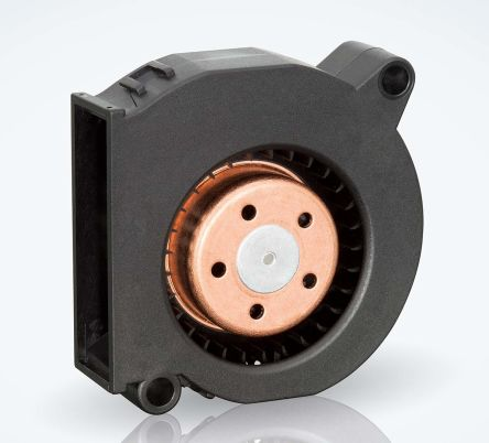 ebm-papst Centrifugal Fan 51 x 51 x 15mm, 9.6m³/h, 12 V dc DC (RLF35 Series)