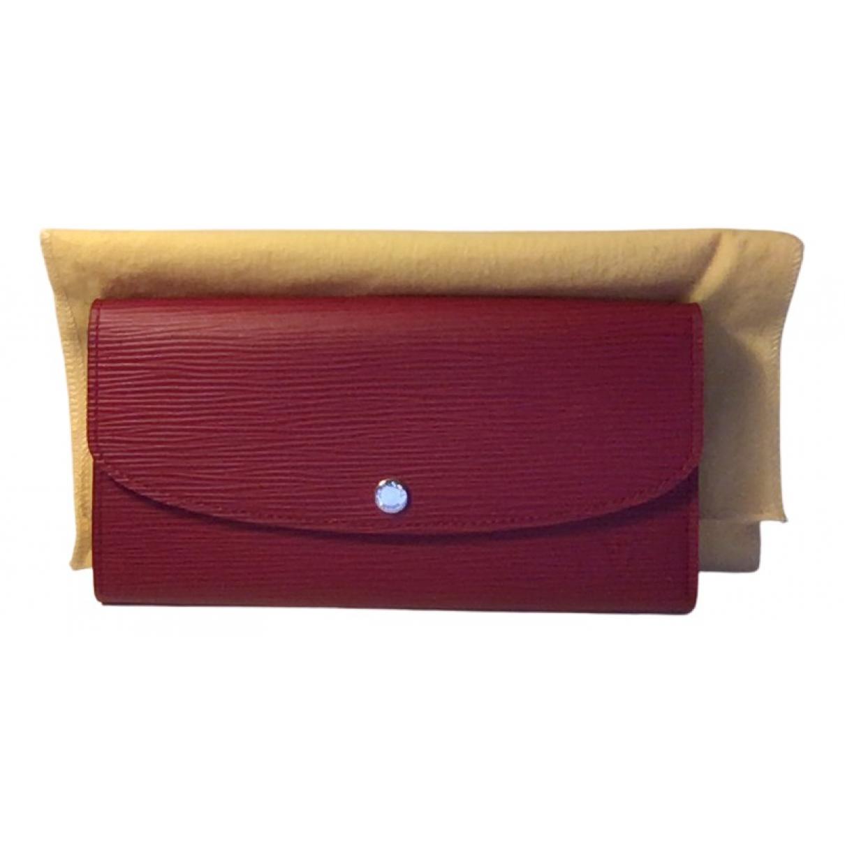 Louis Vuitton Sarah Pink Leather wallet for Women N