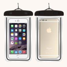 1pc Clear Waterproof Phone Bag