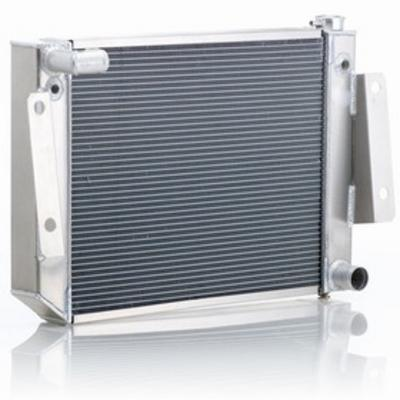 Be Cool Dual Core Radiator Module Assembly for GM V8 Engines with Standard Transmission - 81220