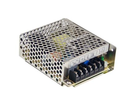 Mean Well , 36W Embedded Switch Mode Power Supply SMPS, 24V dc, Enclosed