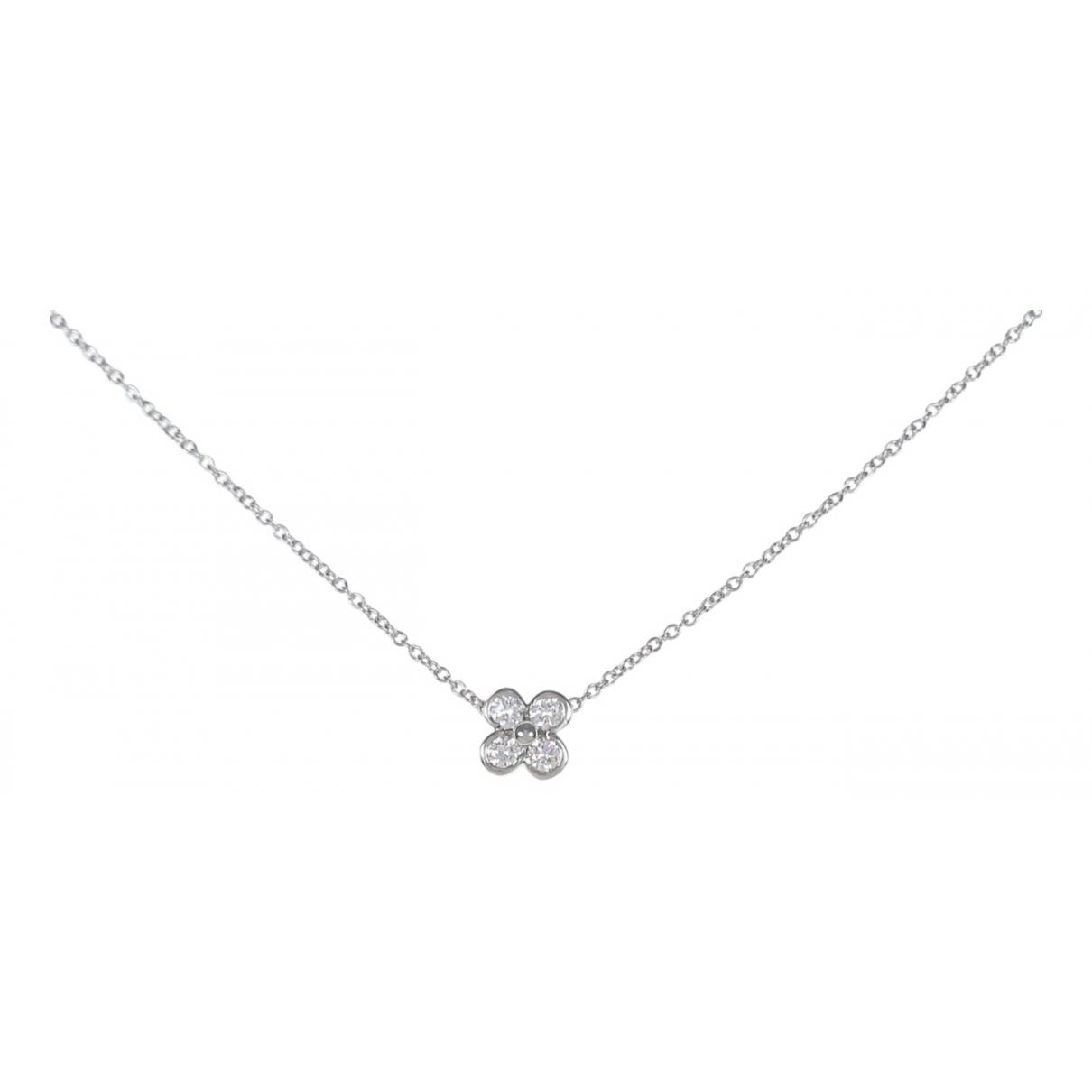Tiffany & Co \N Kette in  Silber Weissgold